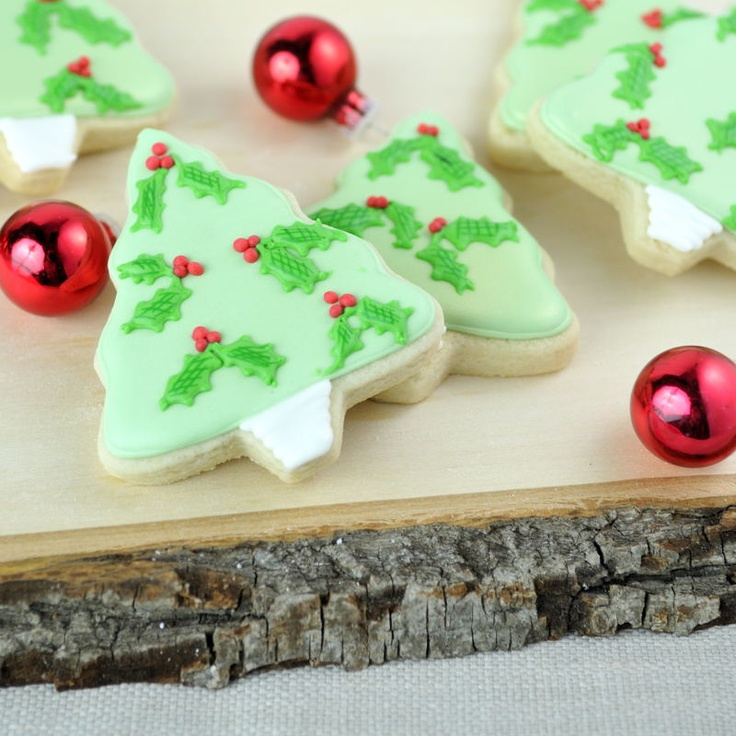 65 best Christmas cookies tree images on Pinterest | Christmas ...