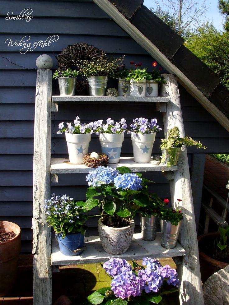 Smillas Wohngefühl: Blumentreppe und ein Mini-DIY