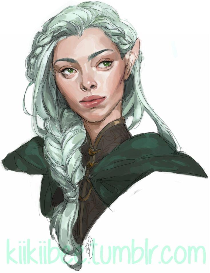 Commission of an elven ranger named Miríel~