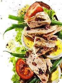 Tuna Nicoise Sandwiches ... but i'd turn this into salmon nicoiseb ;)