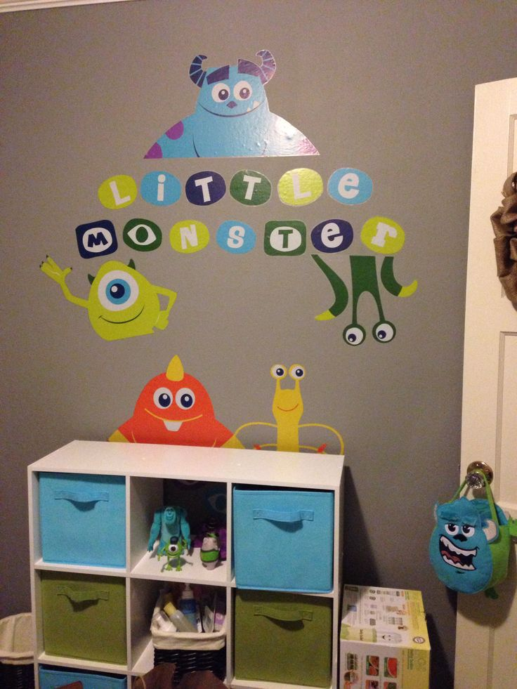 Attractive Juanpi´s Room Stickers :)       Monsters Inc. Part 25