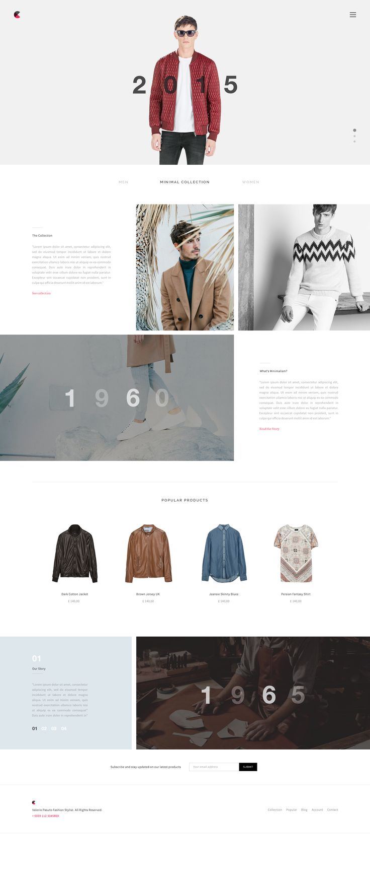 Fashion Website Published by Maan Ali