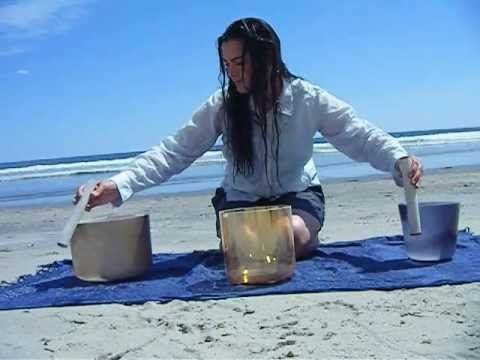 I walked 2 miles in through the forest carrying my Crystal Singing Bowls to my favorite sandy beach in Maine. Here is a solstice blessing for you...for more info http://www.Jaclyn-O.com    and please contact me if you would like to join me for the next Wilderness Wisdom Journey on the beach or in the forest!