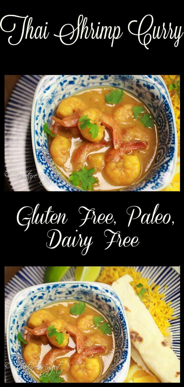 thai shrimp curry with coconut