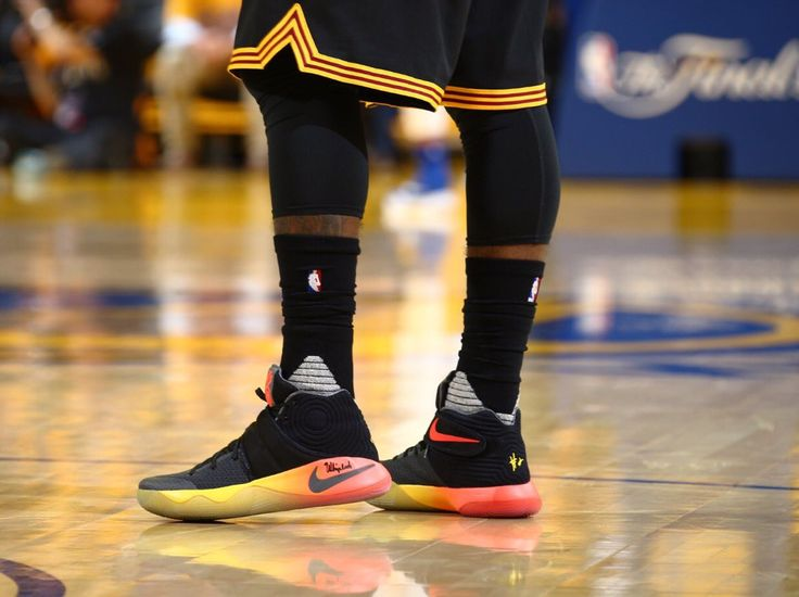 Kyrie's sneakers are fire