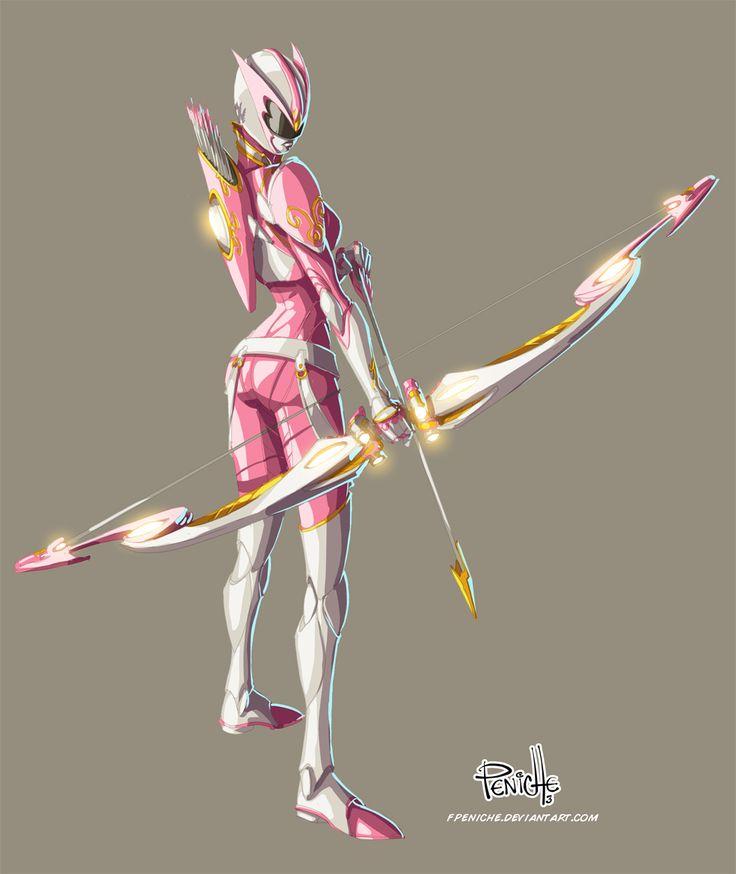 Pink Ranger by Fpeniche.deviantart.com on @deviantART