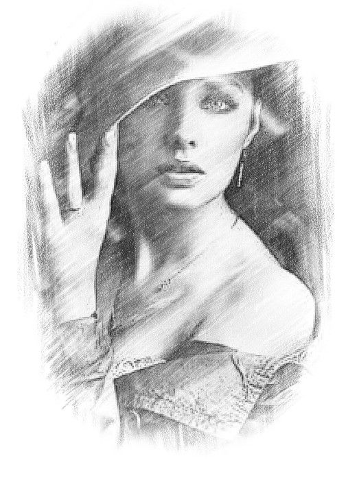 Pencil Drawing Online Photo Editor