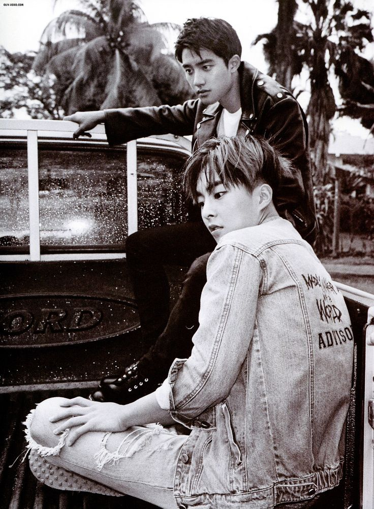 D.O and Xiumin | EXO Dear Happiness photobook 2016 ♥