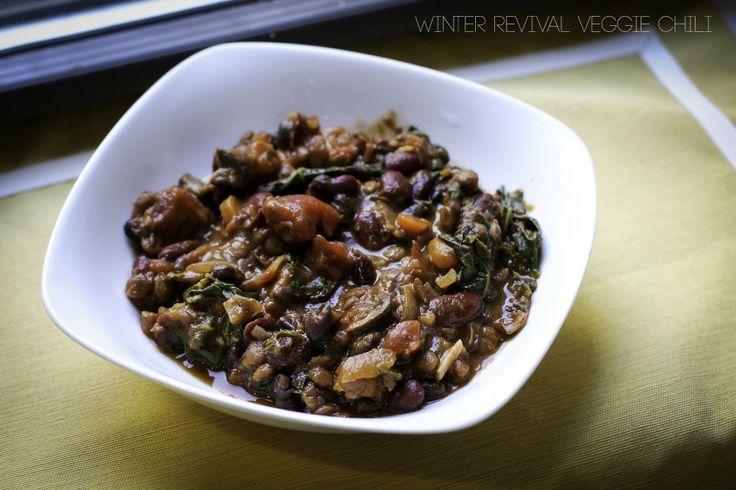 ... revival veggie chili veggie chili # vegan # vegetarian # dinner