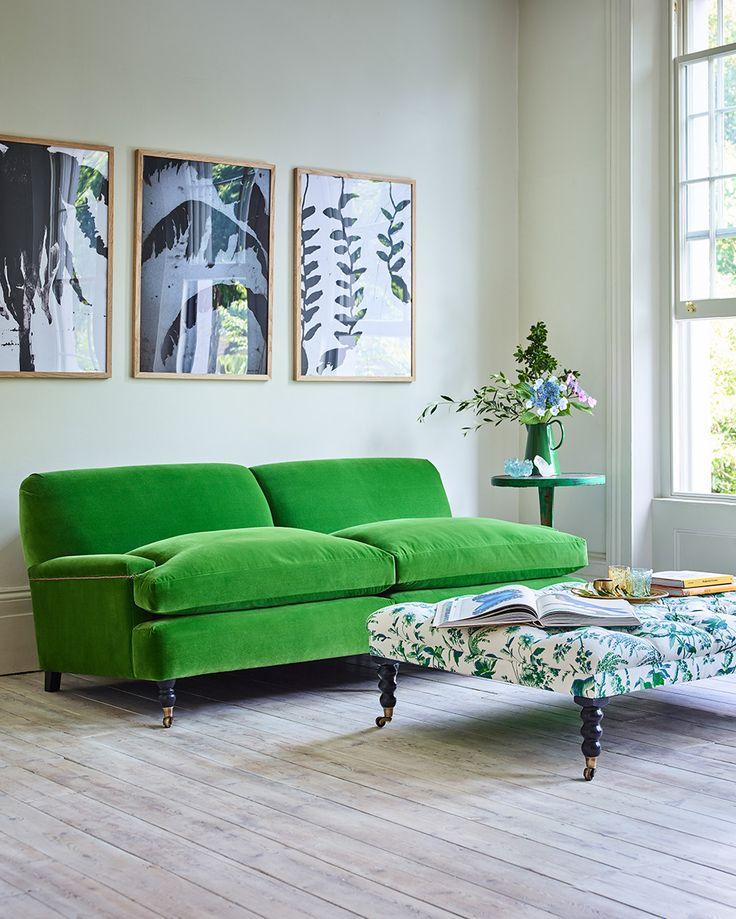 Delightful House U0026 Garden Collection Handcrafted By Arlo U0026 Jacob | Holmes Sofa  #HouseandGarden #HouseandGardenxAJ