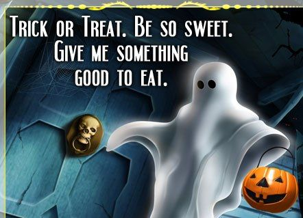 Perfect Funny Trick Or Treat Quotes And Sayings. Halloween ...