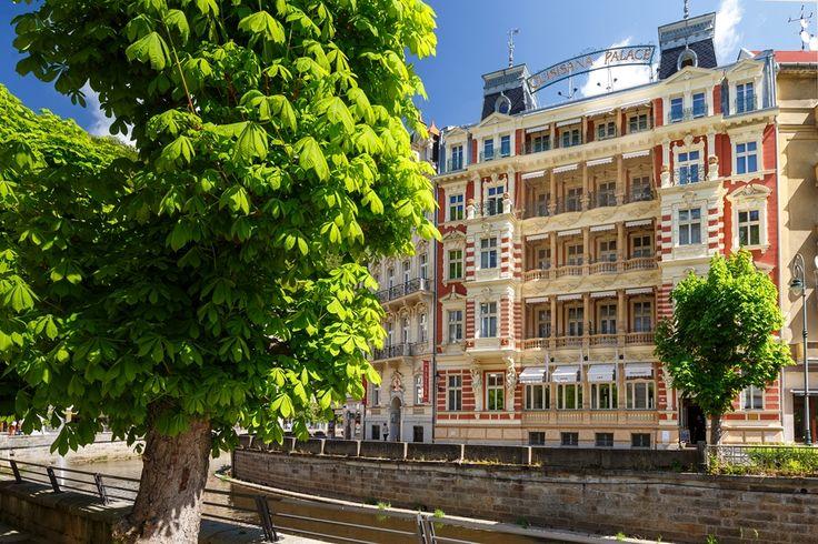 Quisisana Palace Karlovy Vary in summer