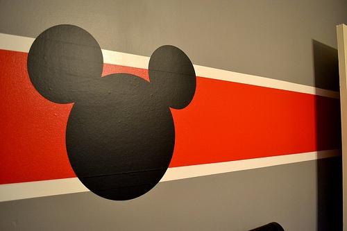 Mickey Mouse Part- Idea for Noah's Nursery