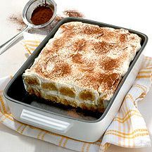 Tiramisu (Weight Watchers) à fromage blanc