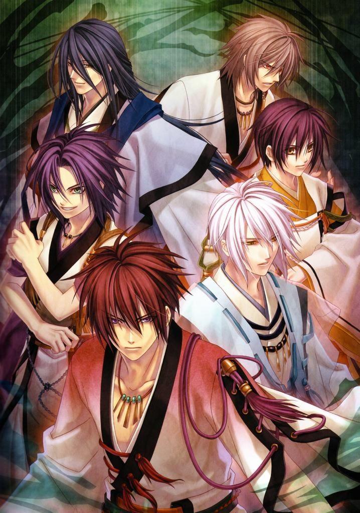 Hiiro no Kakera 緋色の欠片 #game #otomegame