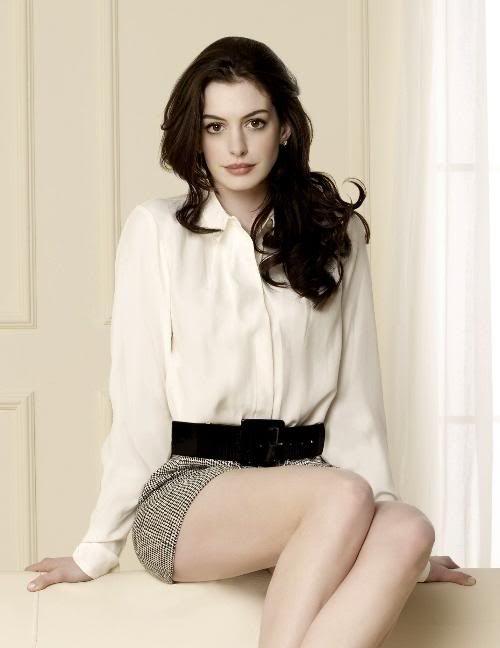¿Pero dónde has estado que no te había visto? >> Anne Hathaway