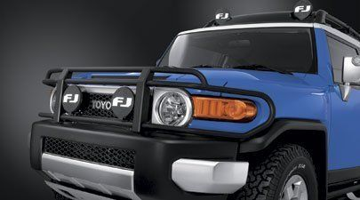 Genuine Toyota Auxiliary Off-Road Light Cover for FJ Cruiser-New, OEM