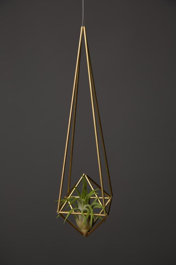 Himmeli diamond air planter - Decoist