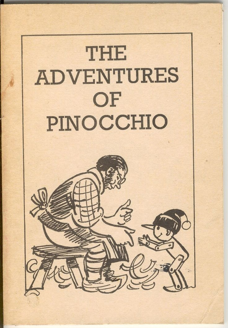 the adventures of pinocchio book report The adventures of pinocchio is a story about an animated puppet, boys who turn into donkeys, and other fairy tale devices the setting of the story is the tuscan area.