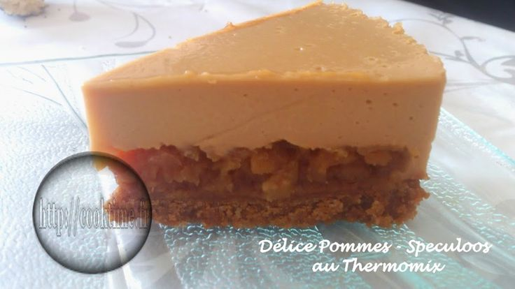 Délice Pommes-Speculoos ( au Thermomix )