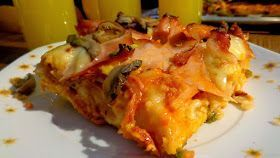ΜΑΓΕΙΡΙΚΗ ΚΑΙ ΣΥΝΤΑΓΕΣ: Πίτσα θεική με πολύ ωραία ζύμη !!!