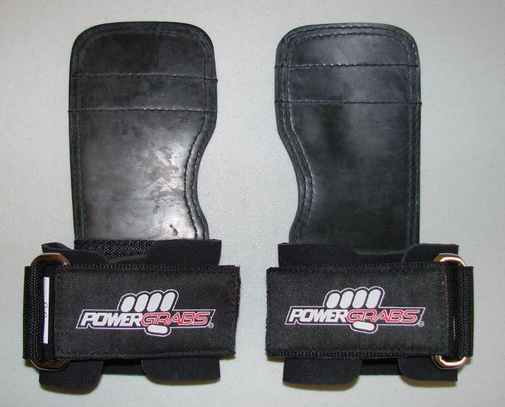 Power Grabs Lifting Grips Rubber Model