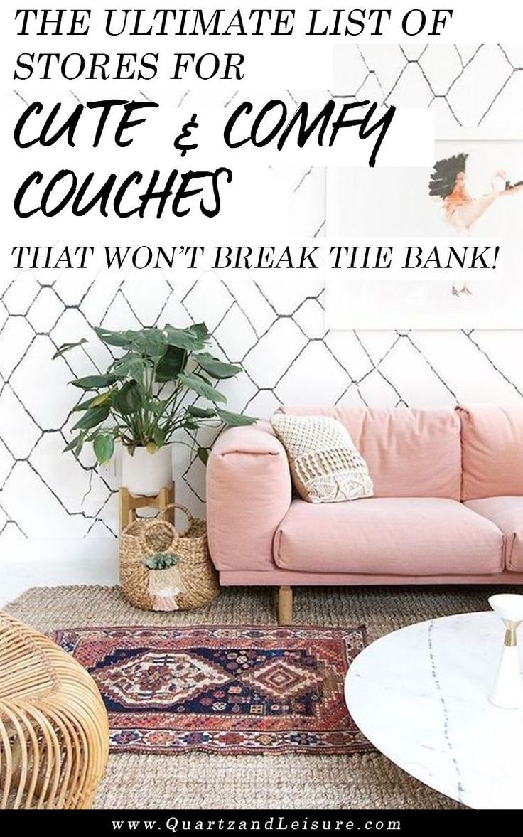Where To Buy Cheap Couches That Are Still Cute Comfy Living