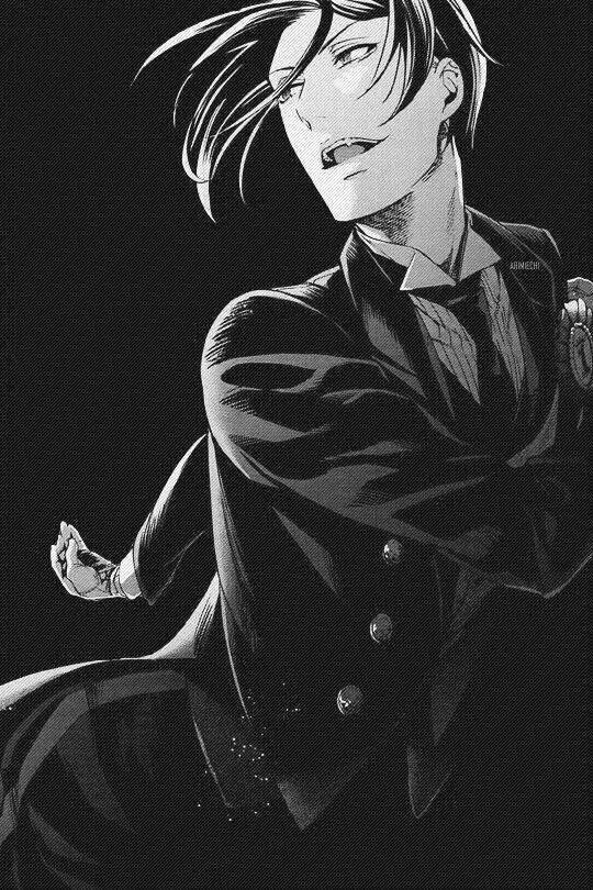 Nnnnnng Sebas-chaaaaaaan. <3 Sebastian from Black Butler | Kuroshitsuji #anime