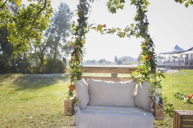 Prachtig voor een zomers bruiloft of een herfstige dag!