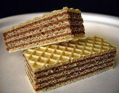 Eat, Love &  Travel: Ukrainian Waffle cake with condensed milk