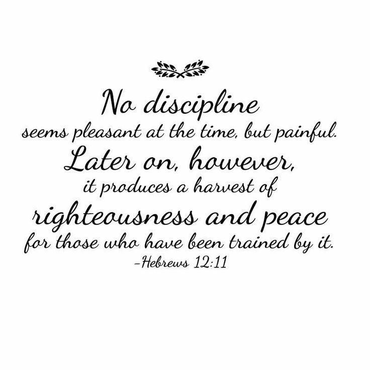 Hebrews 12:11