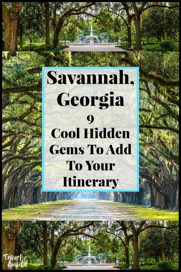 15 Cool Hidden Gems To Check Out In Savannah Ga Travelawaits Travel Savannah Savannah Chat Georgia Vacation