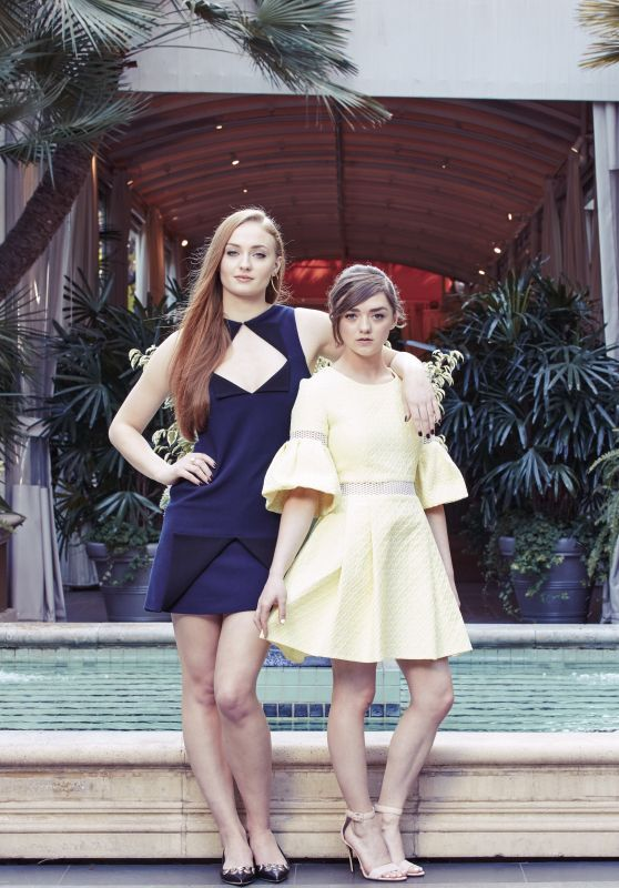Sophie Turner & Maisie Williams – The New York Times Photoshoot, March 2015
