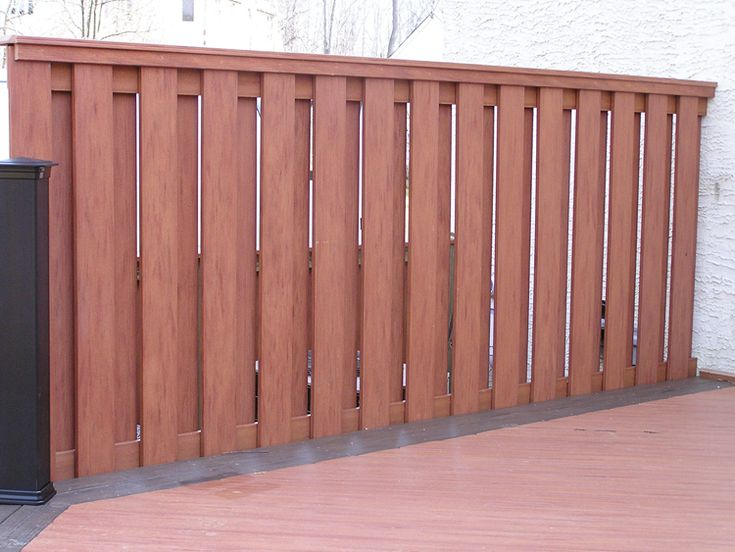 1000 images about wood fences on pinterest fence design for Deck privacy screen panels