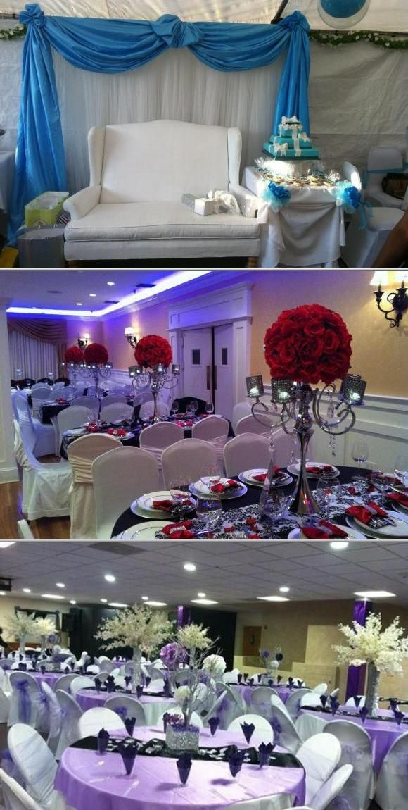 do you invite officiant to wedding reception%0A Call on the services of Erica u    s Flowers  u     Party Rentals when you need to  find a