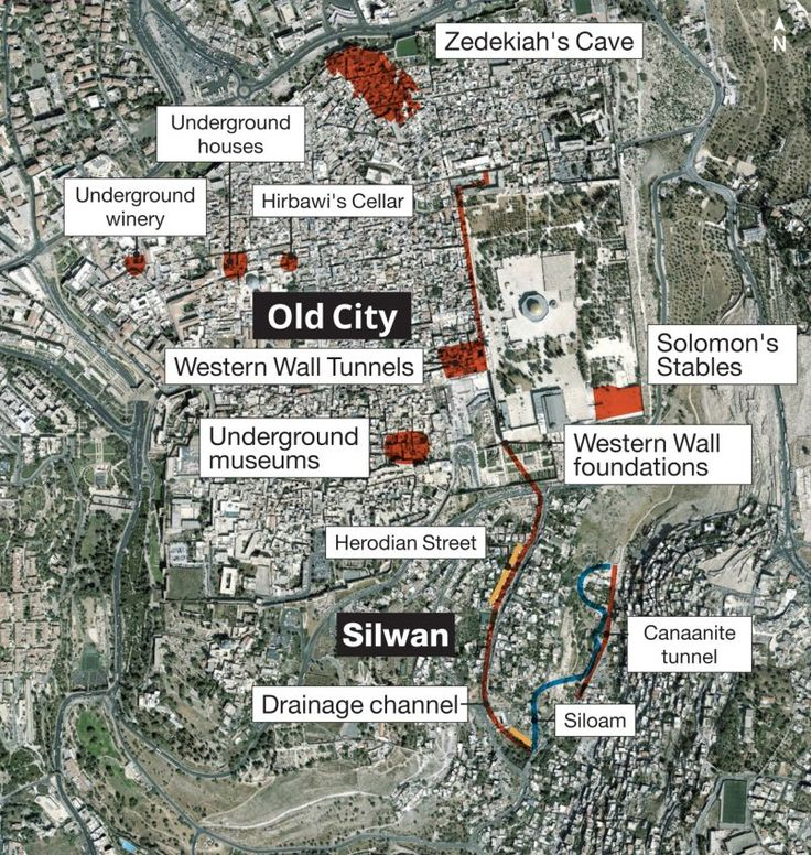 Underground Jerusalem.  Not a little fishy, but fascinating. Zedekiah's Cave, underground houses, Hirbawi cellar, underground winery, Western Wall Tunnels, Solomon's Stables, Western Wall foundations, Herodian Street, Canaanite Tunnel, Siloam Pool, drainage channel