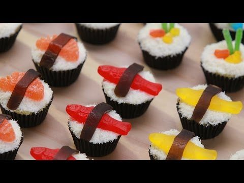 Click here to learn how to make sushi themed cupcakes ...