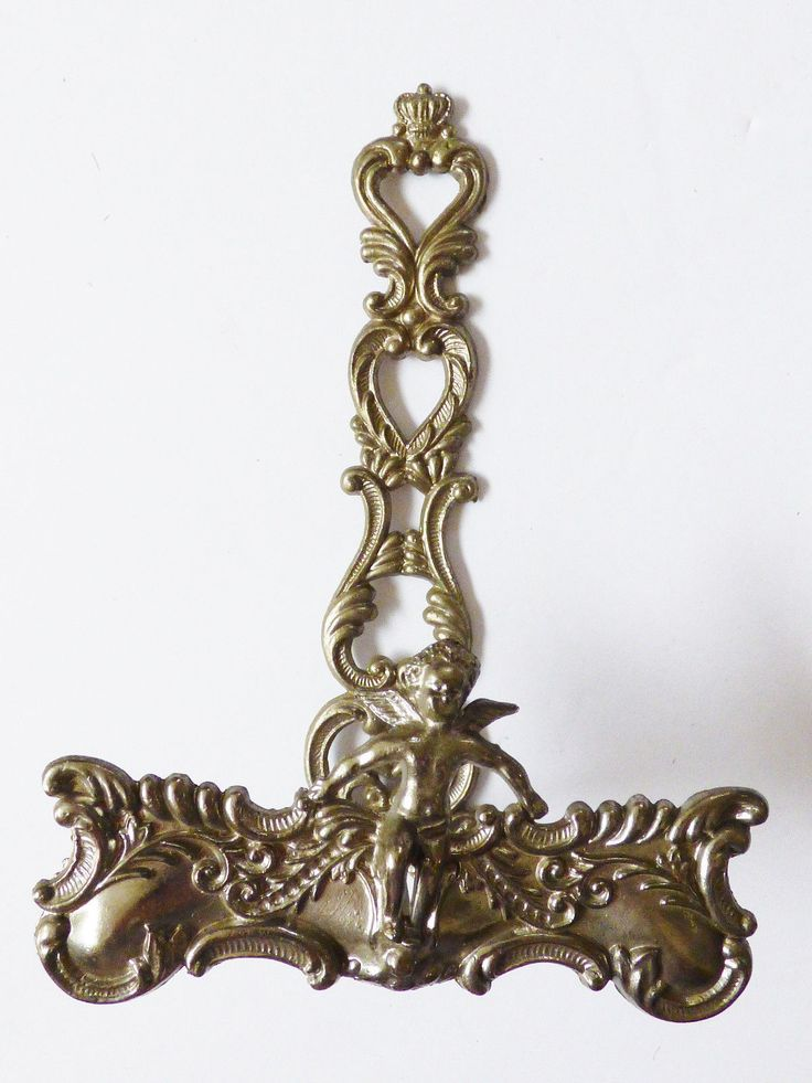 VTG SIlver tone metal Cherub Style Display Easel Picture Plate Stand Holder | eBay