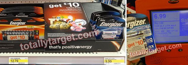 Target: Possible $1 MONEYMAKER on Energizer Ultimate Lithium 4-packs with specially marked $10 voucher packages!! - http://www.couponaholic.net/2014/11/target-possible-1-moneymaker-on-energizer-ultimate-lithium-4-packs-with-specially-marked-10-voucher-packages/