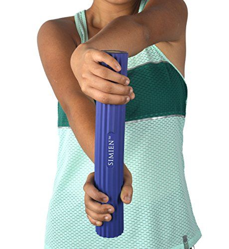 SIMIEN Flexible Rubber Twist Bar - 3 Resistance Bar Levels In 1 - Tennis Elbow, Golfer's Elbow, Tendinitis, Works With Brace & Sleeves - Flex & Twist Elbow, Wrist, Forearm Pain Relief - 2 BONUS eBooks