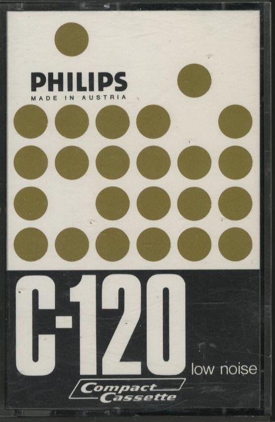 philips cassette tape cover