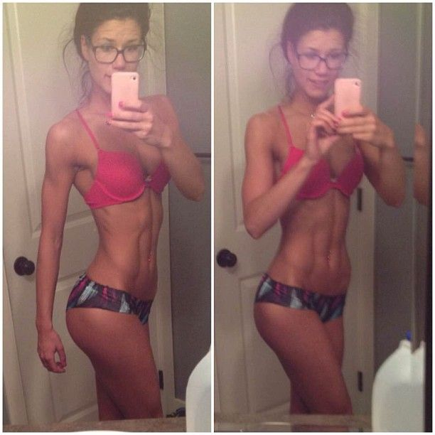 Wow! Great lean and toned physique!