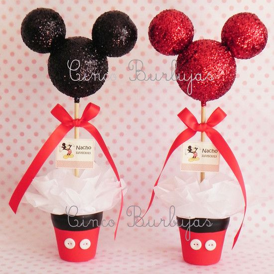ideas para decorar fiestas de mickey mouse - Buscar con Google