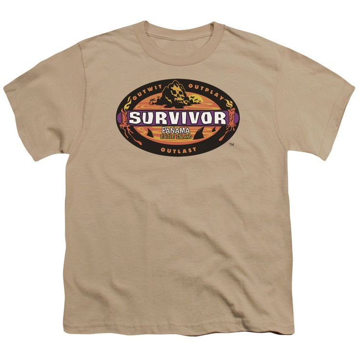 Survivor Panama Sand Youth T-Shirt