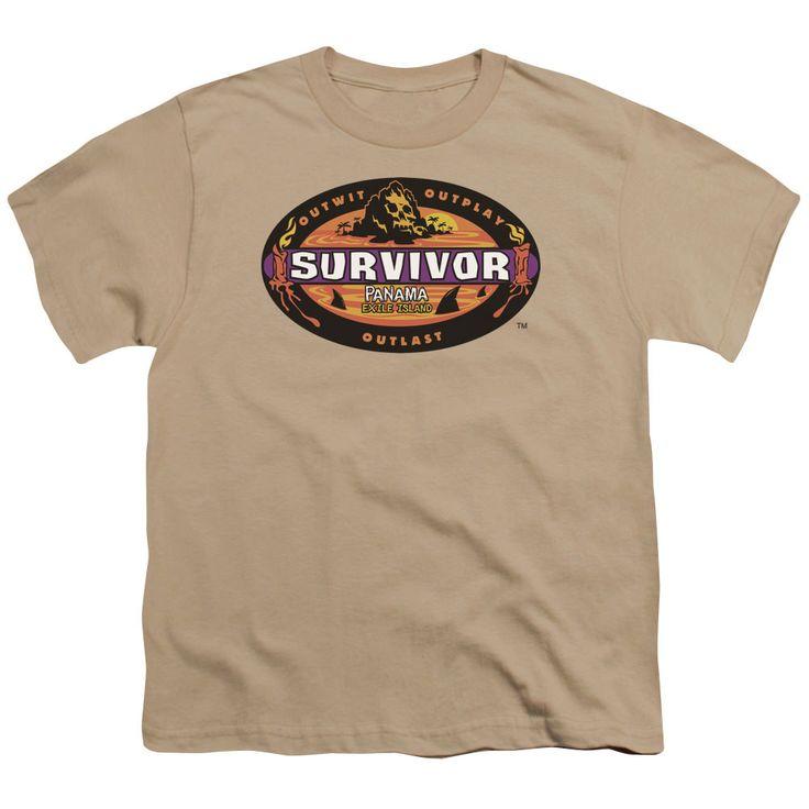 Survivor Panama Sand Youth T-Shirt
