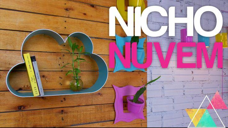 NICHO NUVEM DE PVC | DIY #clubedacasa