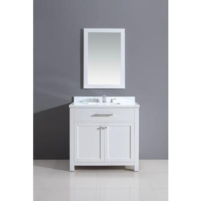Jade Bath | Courtyard Rialto White Vanity 36 Inch x Inch x 21 Inch | Home  Depot Canada