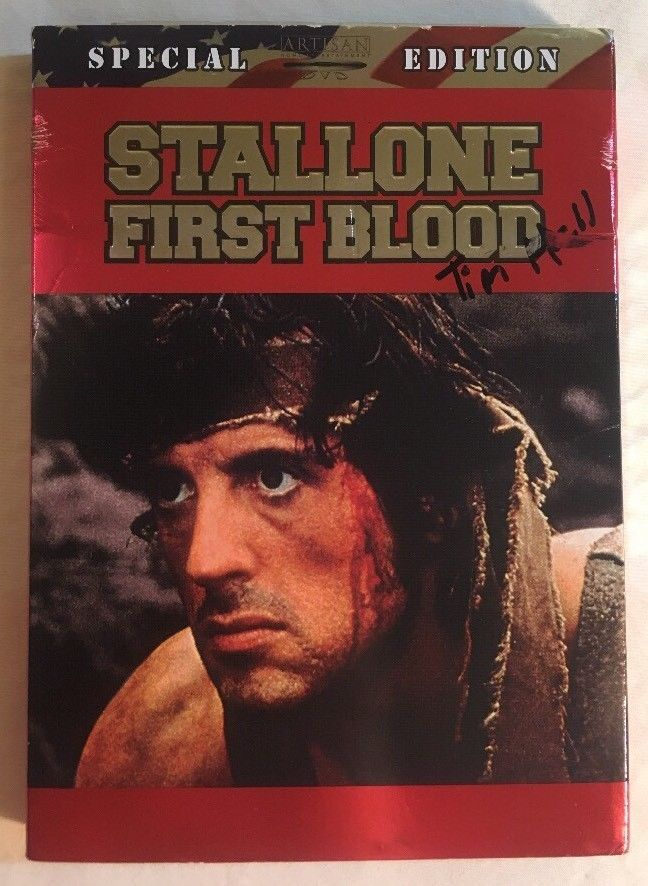 FIRST BLOOD 2-DISC SPECIAL EDITION FULL & WIDESCREEN DVD SET SYLVESTER STALLONE