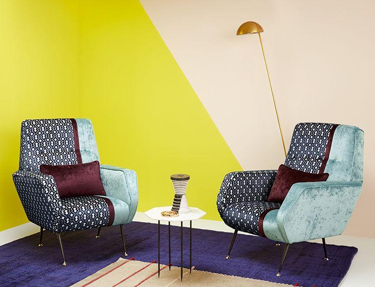 Arredare i vostri ambienti in puro style Rock è ora possibile.  La nuova #collezione di tessuti #TheVelvet ha dato i natali alla #Poltrona Rock.  La poltrona è realizzata con i seguenti tessuti: - #Rock col. 6, Collezione The Velvet. - #Fatale col. 11-16 , Collezione The Velvet.  Visita il nostro sito www.ctasrl.com  #chic #lavorazioneartigianale #madeinitaly #tessuti #interiordesign #tendaggi #textile #textiles #fabric #homedecor #homedesign #hometextile #decoration #HOME #CASA