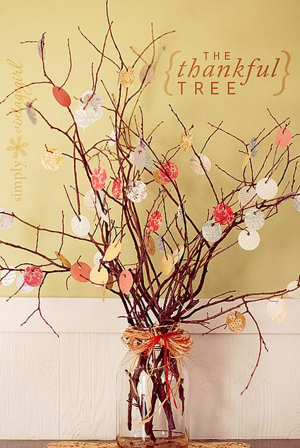 the thankful tree  : Ideas, Thanksgiving Trees, Thanks Trees, Holidays, Kids, Leaves, Families, Thankful Tree, Crafts